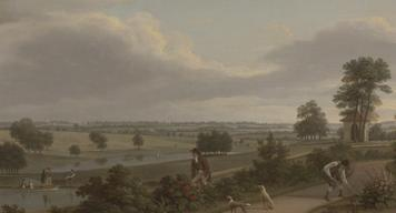 Image from Moving Earth: Capability Brown. Exhibition at Yale Center for British Art