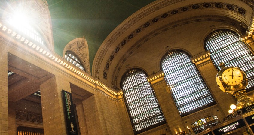 Photo of Grand Central Station New York.