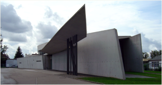 Photo - Vitra fire station, Baden-Wuerttemberg, Weil am Rhein, Germany – Zaha Hadid, 1994