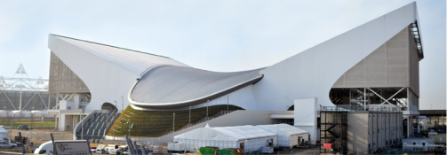 Photo - London Aquatics Centre, Olympic Park, Stratford – Zaha Hadid, 2012