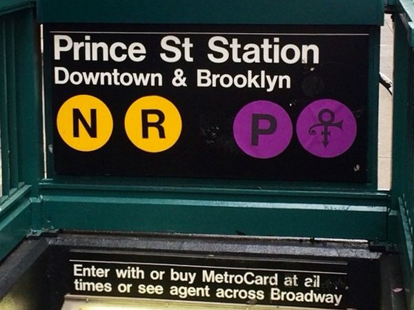 Photo of Prince Street Station Subway in New York.