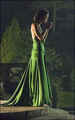 Atonement Emerald Green Dress