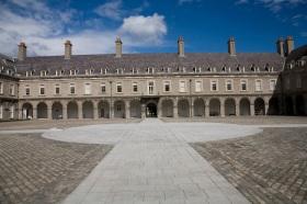 Photo of Courtyard Irish Museum of Modern Art