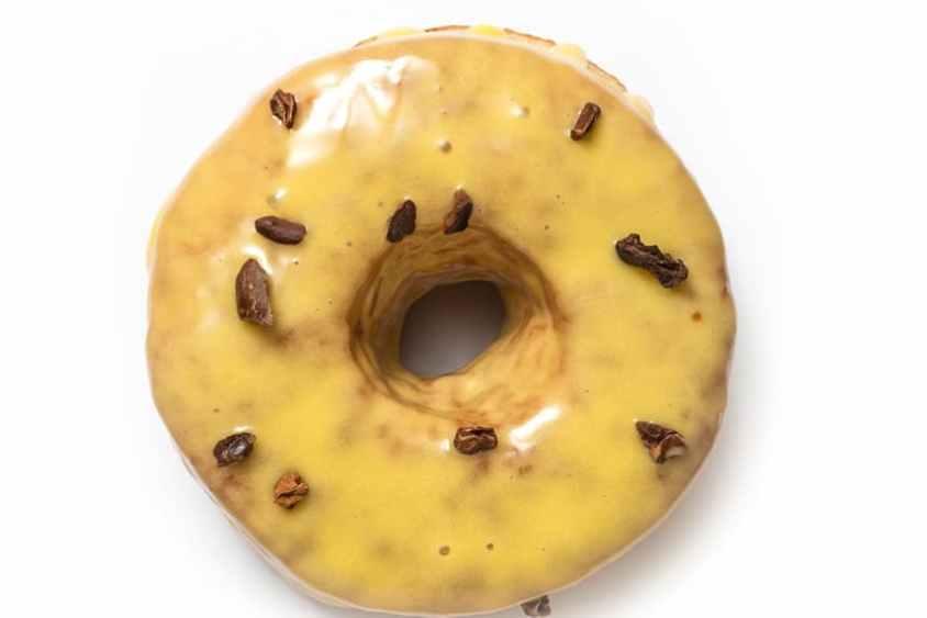 Passion Fruit Doughnut