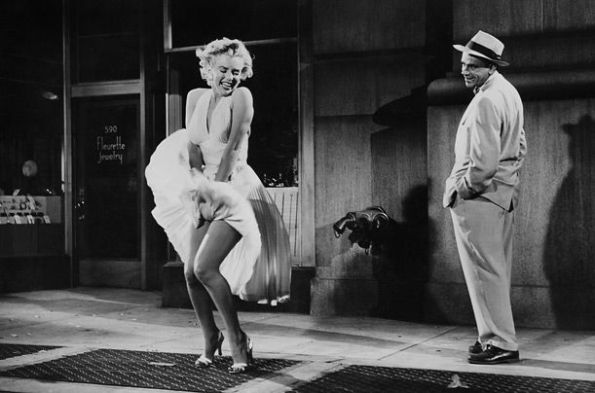 Marilyn Monroe in The Seven Year ItchMarilyn Monroe in The Seven Year Itch