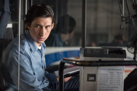 Adam Driver as Paterson in Paterson by Jim Jarmusch.
