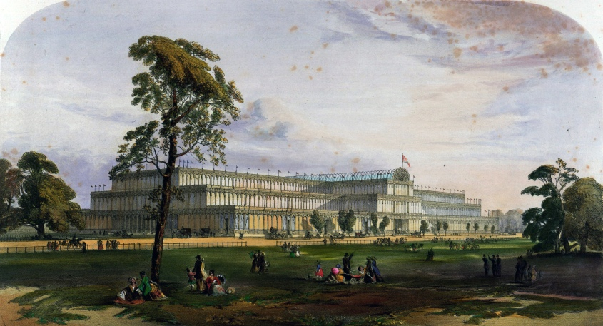 Photo of Crystal Palace circa 1851 to 1854