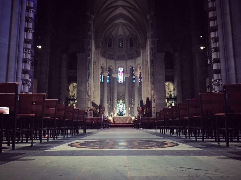 Photo of Cathedral Church of St John the Devine in New York.