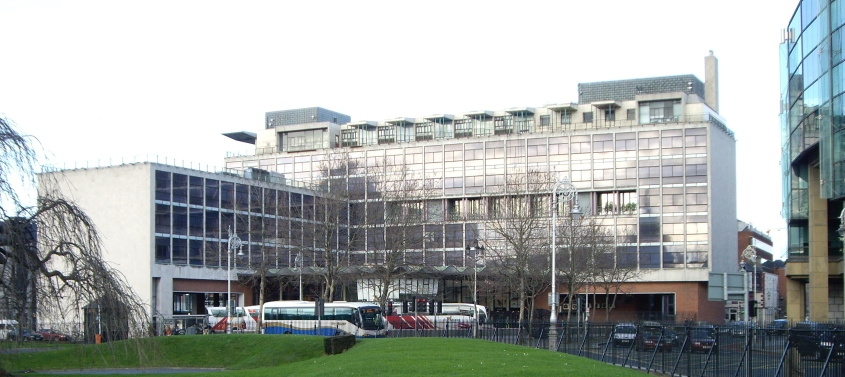Photo of Busáras in Dublin