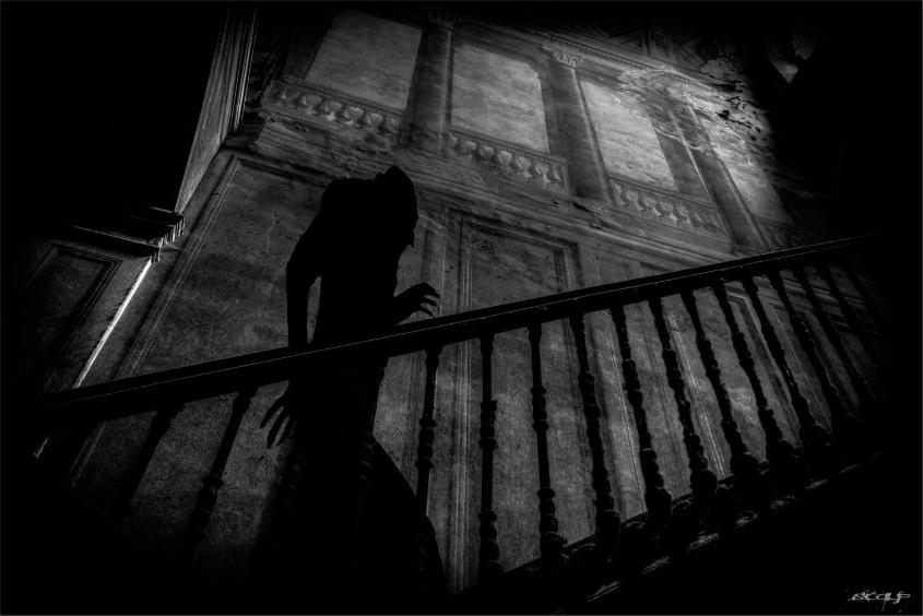 Photo of a scene from the film Nosferatu