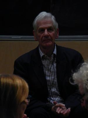 Paul Koralek, speaking at Trinity College,
