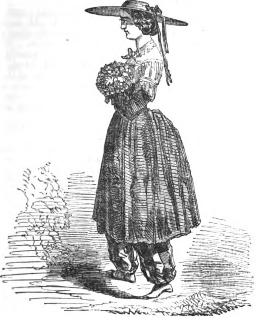 Bloomer Costume, circa 1832