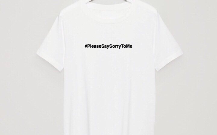 Diet Prada Please Say Sorry To Me T-Shirt