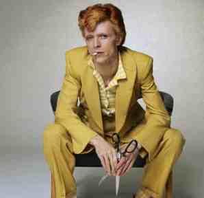 David Bowie cuts the mustard.