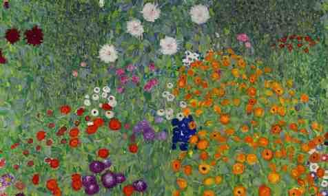 Gustav Klimt's Bauerngarten