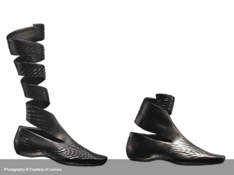 Shoes designed by Zaha Hadid for Lacoste