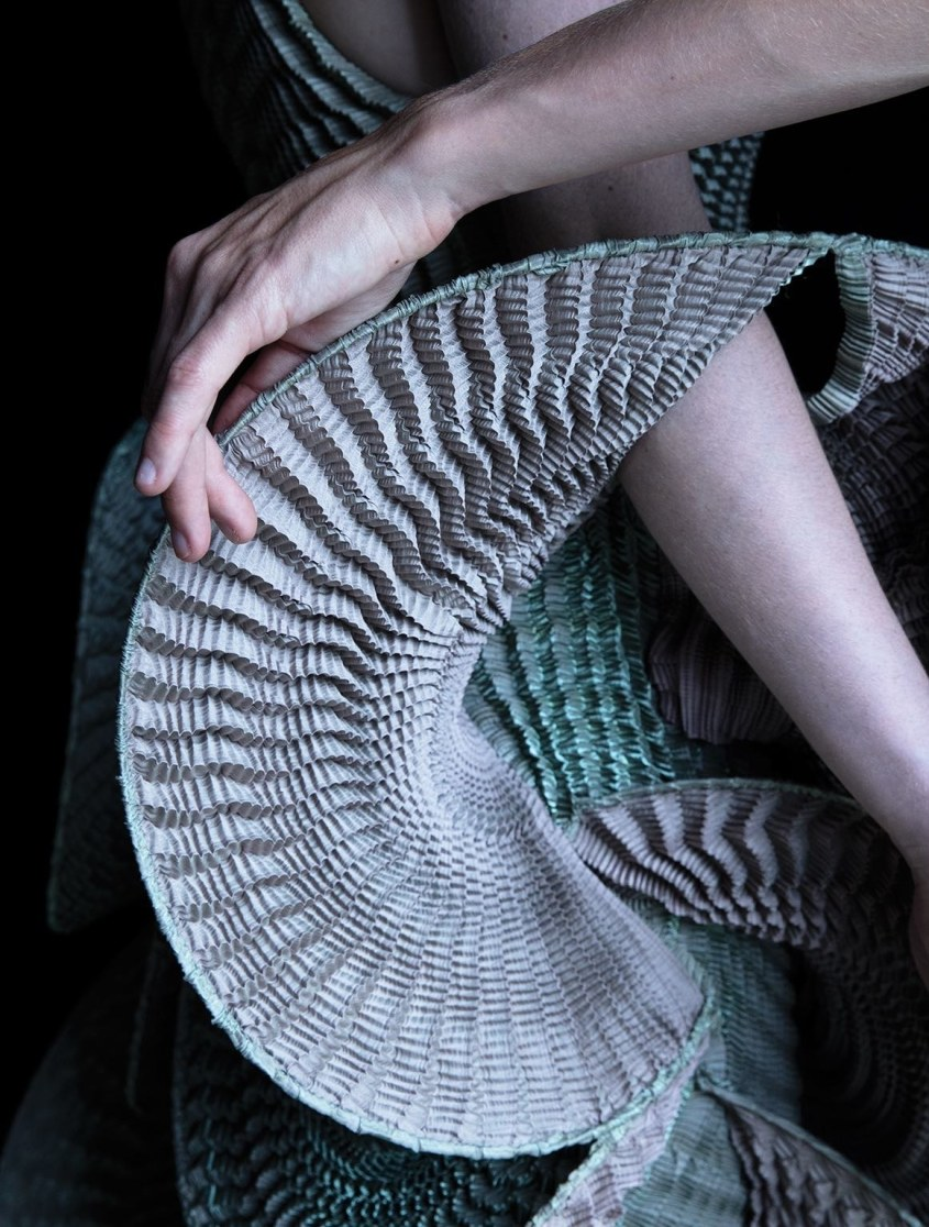Iris van Herpen using digital technology