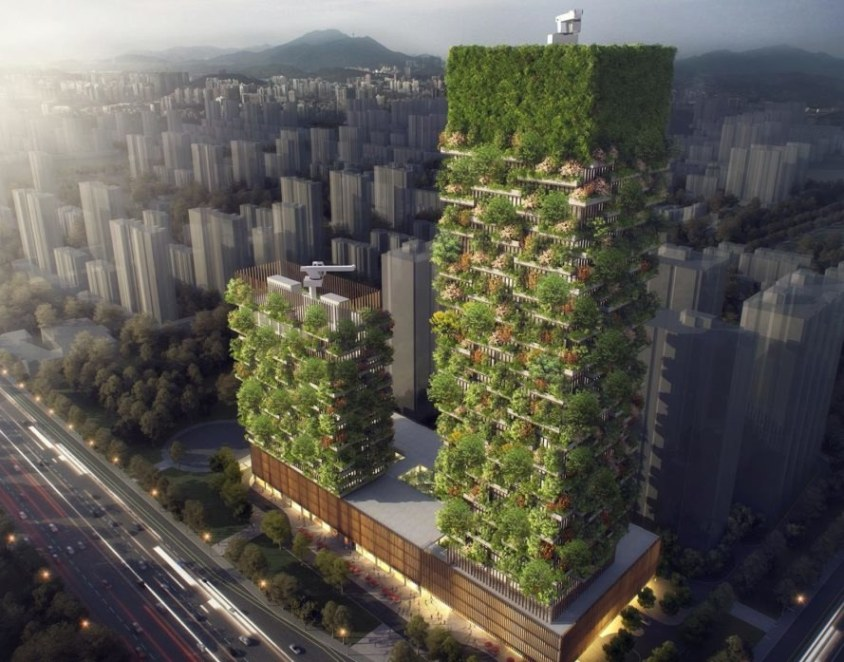 Nanjng Green Towers China