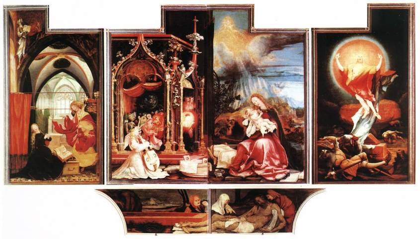 Matthias Grunewald's - Second State of the Isenheim Altarpiece.