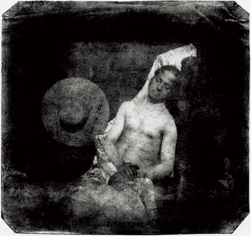 Hippolyte Bayard -Self Portrait as a Drowned Man on Pennzer