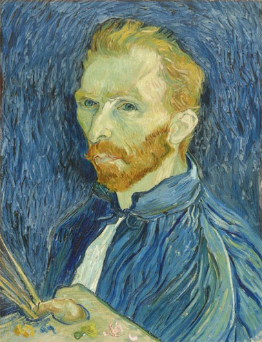 Vincent van Goghs Self-Portrait on Pennzer
