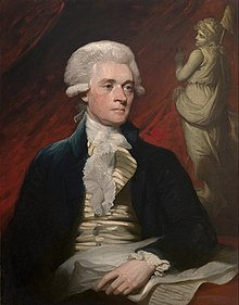 Thomas Jefferson by Mather Brown