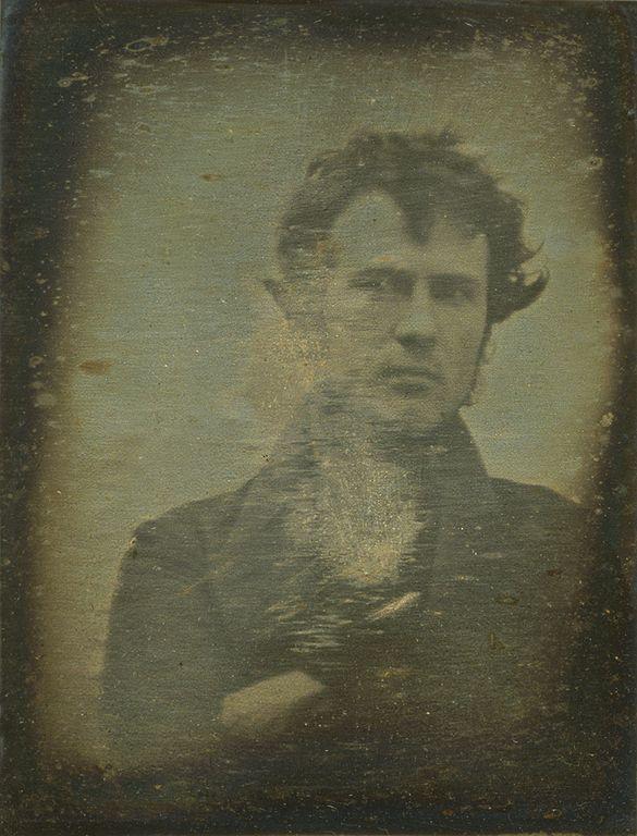 Robert Cornelius Self-Portrait